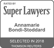 Rated by Super Lawyers 2018: Annamarie Bondi-Stoddard