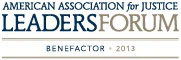 American Association for Justice: Leaders Forum Benefactor 2013