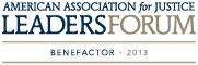 American Association for Justice: Leaders Forum Benefactor 2013