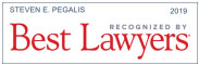 Recongized by Best Lawyers 2019: Steven E. Pegalis
