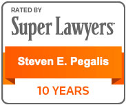 Rated by Super Lawyers Steven E. Pegalis 10 Years