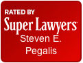 Rated by Super Lawyers: Steven E. Pegalis