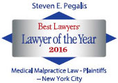 2016 Steven E. Pegalis Lawyer of the Year
