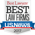 U.S. News Best Law Firms 2017