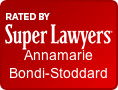 Rated by Super Lawyers Annamarie Bondi-Stoddard