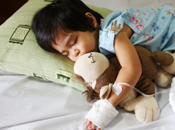 child suffering from pediatric malpractice